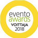 Evento Awards 2018 voittaja